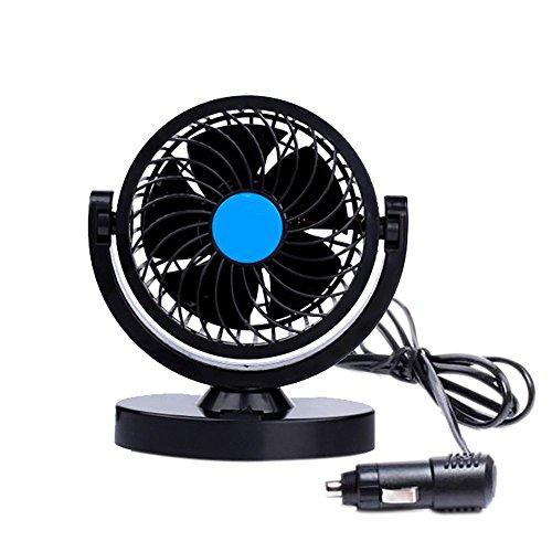 Anpress ventilatore di raffreddamento HX-T305, per macchina, da12V, ruotante a 360 gradi, portatile, oscillante, mini, elettrico, a basso rumore, con forte vento