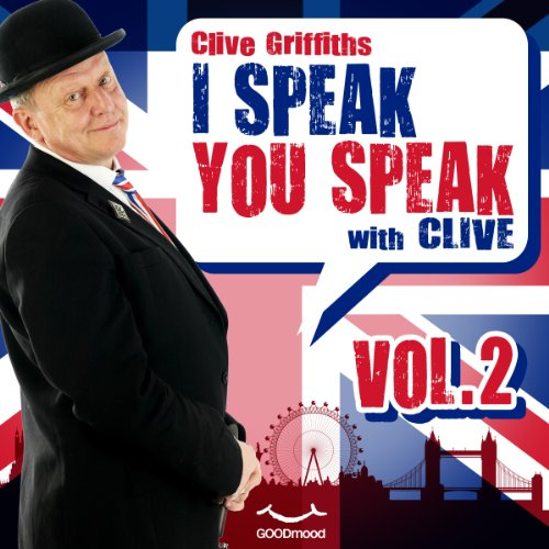 I speak you speak with Clive Vol. 2 audiobook cover art