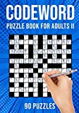 Codeword Puzzle Books for Adults II: Code Breaker / Code Word Puzzlebook | 90 Puzzles (UK Version)