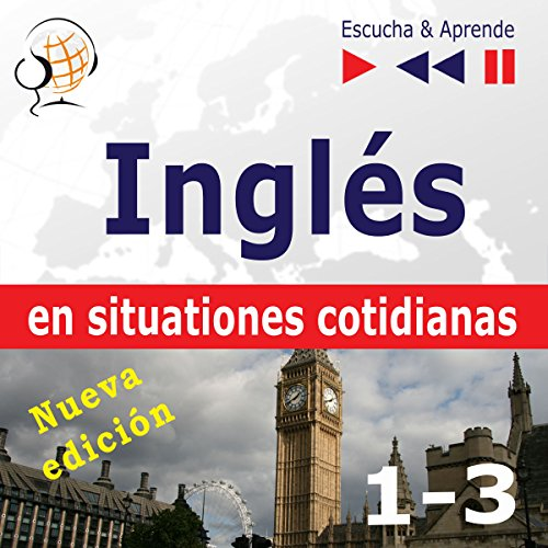 Inglés en situaciones cotidianas 1-3 - Nueva edición - A Month in Brighton / Holiday Travels / Business English. Nivel de competencia B1-B2 cover art