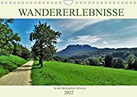 Wandererlebnisse in der Saechsischen Schweiz (Wandkalender 2022 DIN A4 quer): Die schoensten Wanderziele (Monatskalender, 14 Seiten )