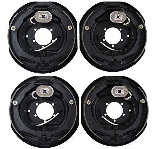 "Ei Trailer Brake Assembly Electric Trailer Brakes 12"" x 2"" - 2 right & 2 left 5200 6000 7000 lb axles"