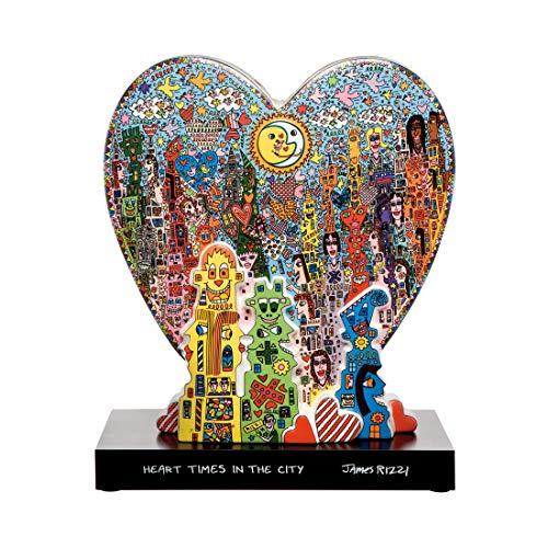 Goebel Pop Art Heart Times in The City - Figur Bunt