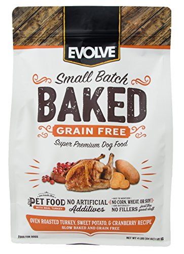 Evolve Baked Grain Free Turkey, Sweet Potato & Cranberry Recipe