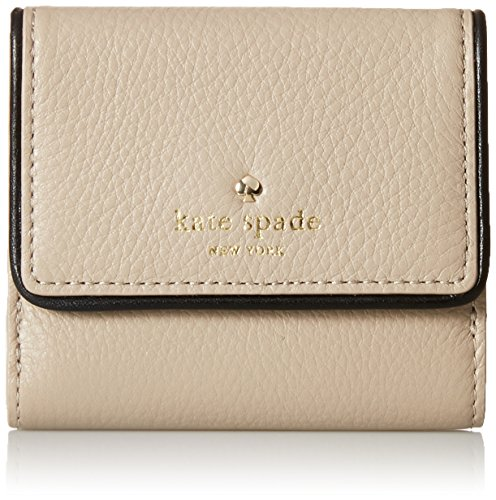 kate spade new york Cobble Hill Tavy Wallet, Clock Tower/Black, One...