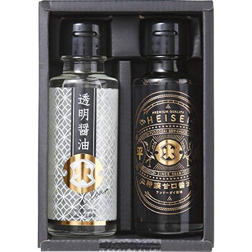 平成・透明醤油2本詰合せ 190889