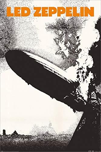 Led Zeppelin Laminiert I Maxi Poster 61 x 91,5 cm