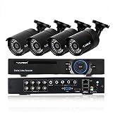 DVR Kit Videosorveglianza FLOUREON 8CH 1080N AHD HDMI DVR 4 * 960P 2000TVL 1.3MP Telecamera Esterno,...