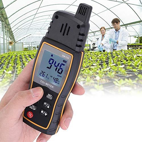 AUNMAS Multifunktionaler Kohlendioxid-Detektor-Analysator-Warnungs-Monitor der hohen Empfindlichkeit für Innenministerium-Unternehmensschule und -Auto