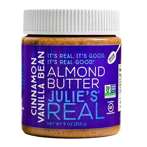 Julie's Real Cinnamon Vanilla Bean Almond Butter - 9 Ounce Jar