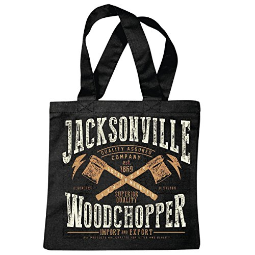 Tasche Umhängetasche Jacksonville Woodchopper Legendary Division Import UND Export USA Amerika LOS Angeles California Brooklyn New York City Manhattan Rugby Baseball Football FUßBALL Einkaufstasche
