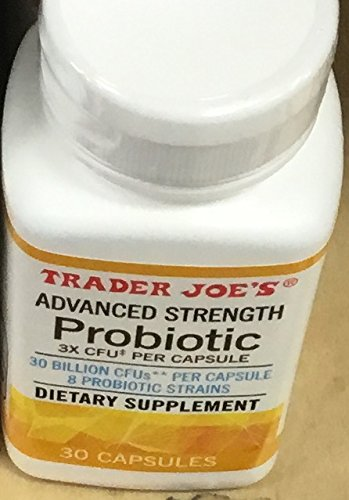 Trader Joe's Advanced Strength Probiotic 30 capsules (1 bottle )