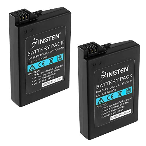 Compatible with Sony PSP-S110 Battery 3.7V 1200mAh PSP-S110 Battery Replacement for Sony PSP-3003 Video Game Console