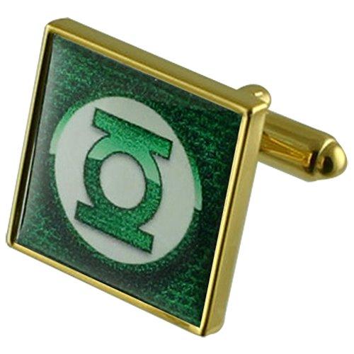 Linterna Verde Gemelos oro selección bolsa regalo