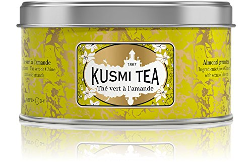 Kusmi Tea – Grüntee mit Mandelgeschmack – Metalldose mit 125 g