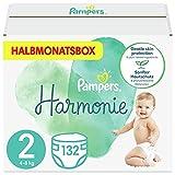 Pampers Harmonie Baby Windeln, aus Premium-Baumwolle und pflanzenbasierten Materialien