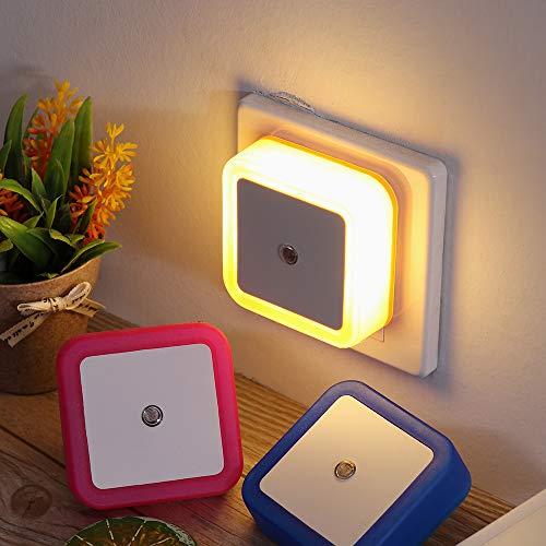 LED Nachtlichtstecker Mini Lichtsensor Steuerung Nachtlichtlampe Kinder Kinder Wohnzimmer Schlafzimmer Beleuchtung