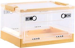 LCM Boîte de Rangement Boîte de Rangement Pliable avec boîtier de Rangement de boîtier de Rangement en Plastique de Couver...