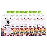 8pcs Fill n Squeeze bolsas de destete reutilizable Squeeze, 200 ml bolsas de alimentos paquete bolsa portátil fruta vegetal comida bolsa de bebida para niños pequeños niños