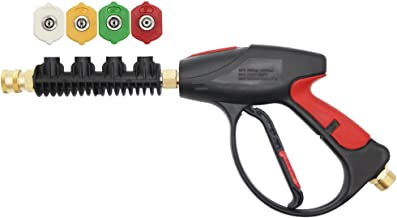Twinkle Star Pressure Washer Gun, 3000 PSI with 4-Color Pressure Water Washer Nozzles