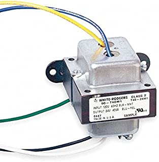 White-Rodgers Class 2 Transformer, Input Voltage: 120VAC, Output Voltage: 24VAC