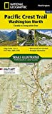 Pacific Crest Trail, Washington North [Canada to Snoqualmie Pass] (National Geographic Topographic Map Guide (1002))