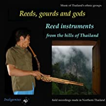 Mlabri Free Reed Pipes (Khaen)