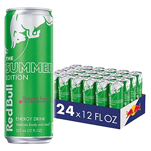 Red Bull Dragon Fruit, 12 Fl oz (Pack of 24)