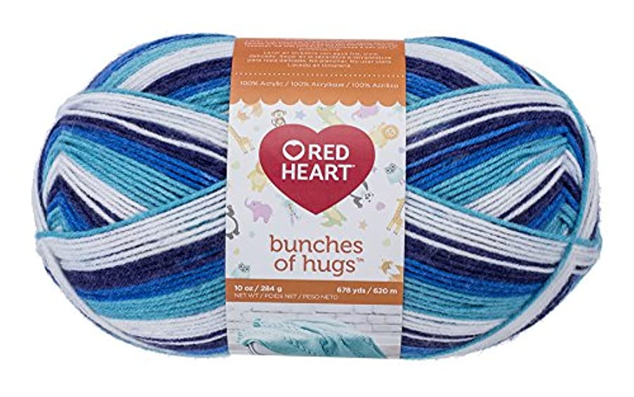 Red Heart Bunches of Hugs, Prince Yarn