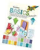 folia 48249 - Motivblock Basics Intensiv, 20 Blatt, ca. 24 x 34 cm - Grundlage für vielfältige Bastelarbeiten und -ideen