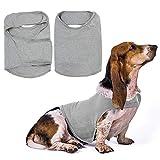 Fdit Cane Anti ansia Camicia Pet antistress Vestiti Pet Calming Wrap Vest Dog Thunder Giacca con gancio e striscia riflettente
