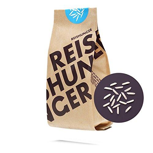 Reishunger Basmati Reis, Pusa 1121 Basmati, Indien, Premium-Qualität aus dem Himalaya - 3 kg - erhältlich in 200 g bis 9kg – 100% Sortenrein