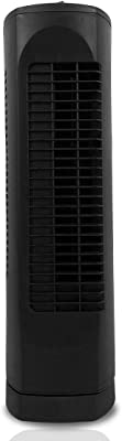 OPTIMUS F-7300 Desktop Ultra Slim Oscillating Tower Fan, 17-Inch