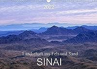 Sinai - Landschaft aus Fels und SandCH-Version (Wandkalender 2022 DIN A3 quer): Der Sinai, Fels- und Sandwueste mit abwechslungsreicher atemberaubender Landschaft. (Monatskalender, 14 Seiten )