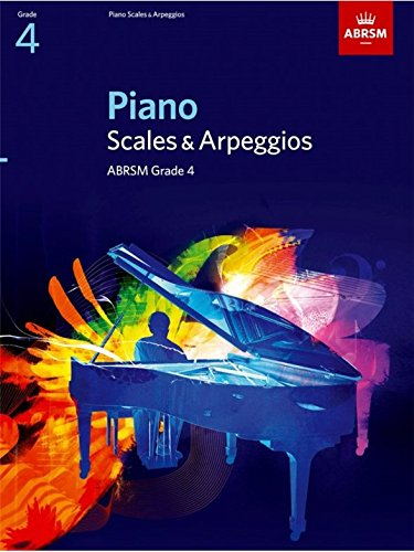 ABRSM Piano Scales and Arpeggios: From 2009 (Grade 4) - Partituras