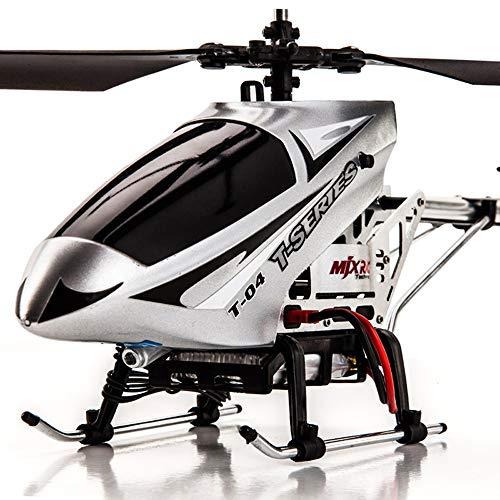 YXWJ Longitud 43cm Control Remoto Resistente a la aleación Avión Niños de Gran tamaño Carga de Adultos Juguete Helicóptero Remoto a la caída de abejón Presente de cumpleaños Niños de 6 años o más