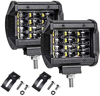 ALPHA DIMA 3X 120W 36W 72W 180W Faro da Lavoro 6000K LED Luci Impermeabile IP67 Off Road Luci di Lavoro Barra per Fuoristrada Camion Auto 120W