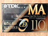 TDK MA-110 Metal Alloy/Bias Type IV Cassette Tapes 2-Pack [Electronics]