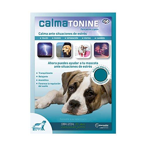 Farmadiet Calmatonine Envase con 120 Comprimidos para Perros y Gatos en Situaciones Estresantes