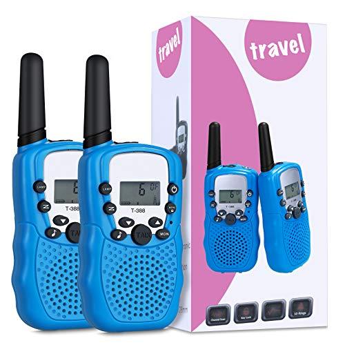 Lictin Walkie Talkie Taschenlampe Kinder Kinderspielzeug 3-12 Jahren Walkie Talkie Kinder Walkie Talkie Funkgerät für Kinder Erhalten 3 Meilen Reichweite für Camping