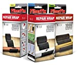 FiberFix 1', 2' & 4' Repair Tape Wrap - 3 Pack - Fix Anything with Permanent Waterproof Repair Tape 100x Stronger than Duct Tape