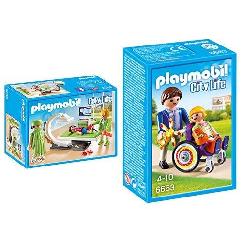 Playmobil 6659 - Röntgenraum &  6663 - Kind im Rollstuhl