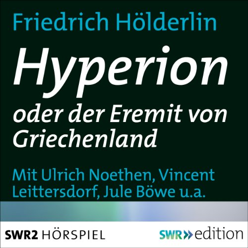 Hyperion oder der Eremit in Griechenland audiobook cover art