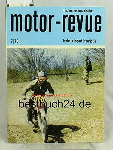 Europameisterschaften zweitägigen Geländefahrten in Frankreich (JAWA 250 Dave Jeremiah) ,Automatikgetriebe UVMV-CZM-NAMI; Vibrationen bei den Motorrädern; CZ verteidigt das Primat; Neuheiten aus 1976;