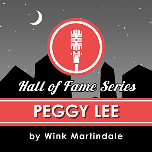 Peggy Lee audiobook cover art