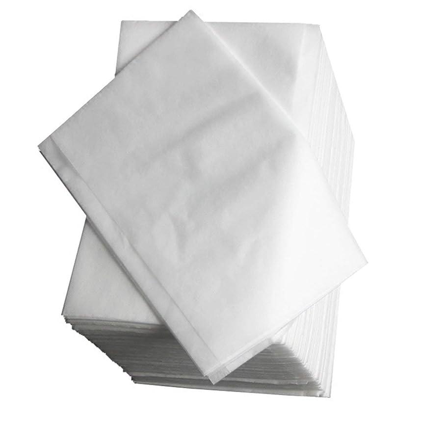 余暇心配するペンス使い捨てベッドリネン美容院マッサージ旅行医療不織布マットレス通気性抗菌抗感染症(白)