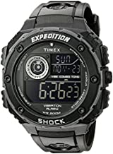 Timex Men's T499839J Expedition Vibe Shock Watch with Black Band