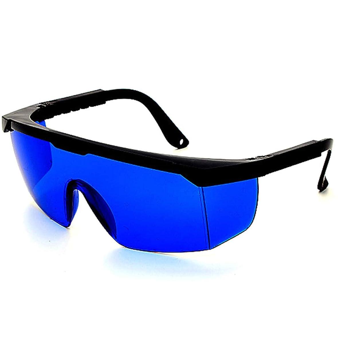拍車葉っぱソースレーザー保護メガネIPL美容機器メガネ、レーザーメガネ - 2組のパルス光保護メガネ。