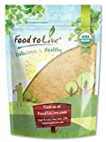 Organic Maca Root Powder by Food to Live (Non-GMO, Kosher, Raw Ground, Flour, Bulk) — 4 Pounds