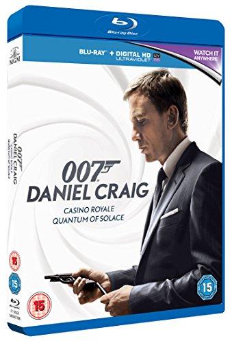 James Bond: Casino Royale/Quantum of Solace [Blu-ray] [2008] [2006]